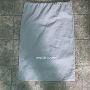 MANOLO BLAHNIK dust bag